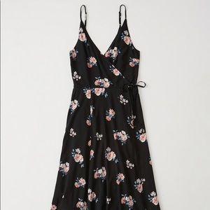 A&F Small Midi Wrap Dress